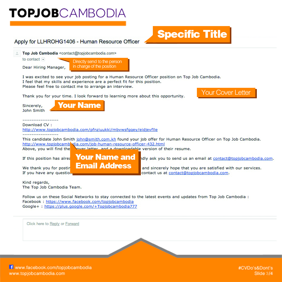 Automatique Email To Employer